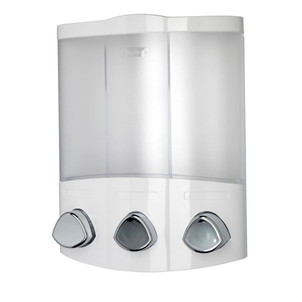 Croydex Euro Soap Dispenser Trio in White