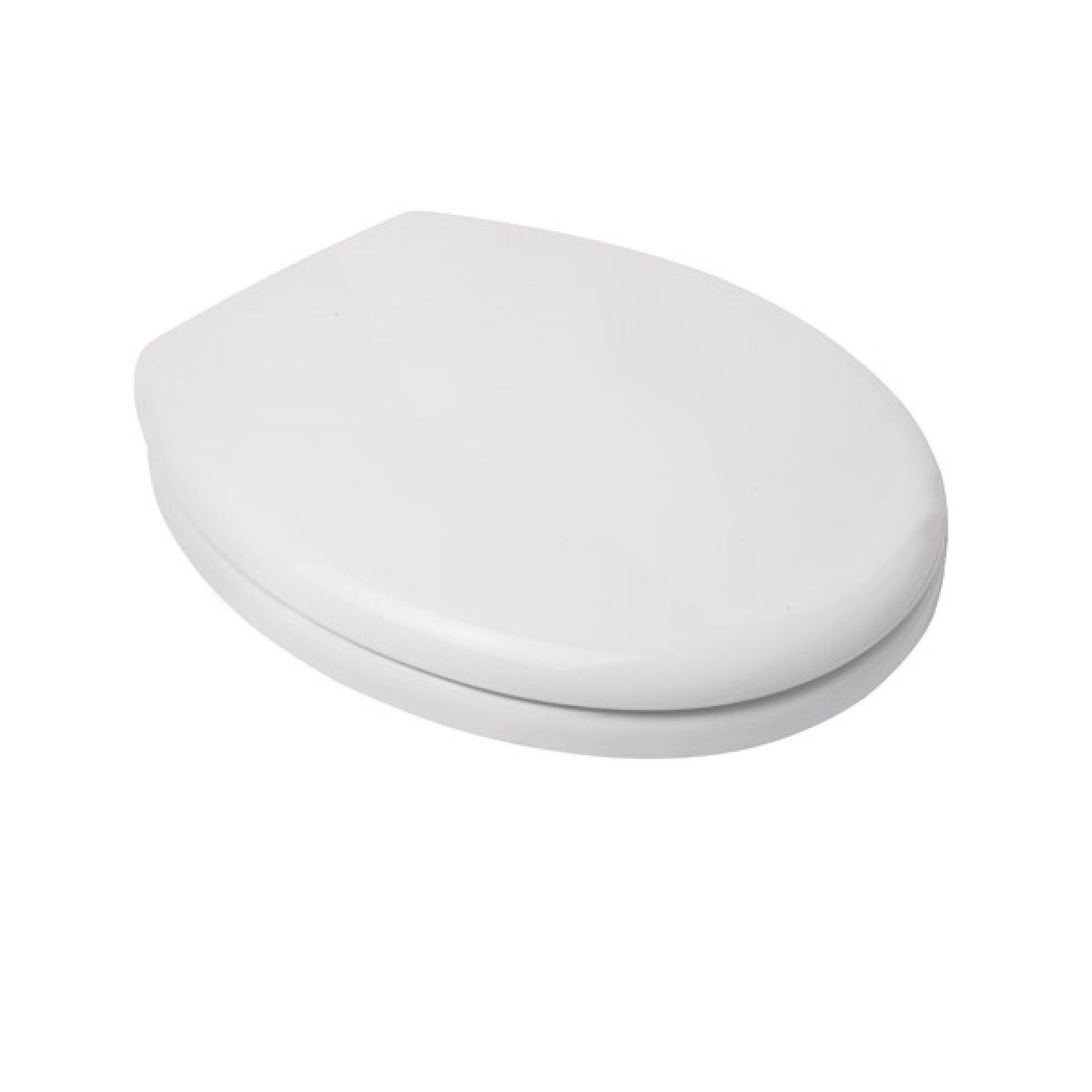 Croydex Safeflush White Toilet Seat