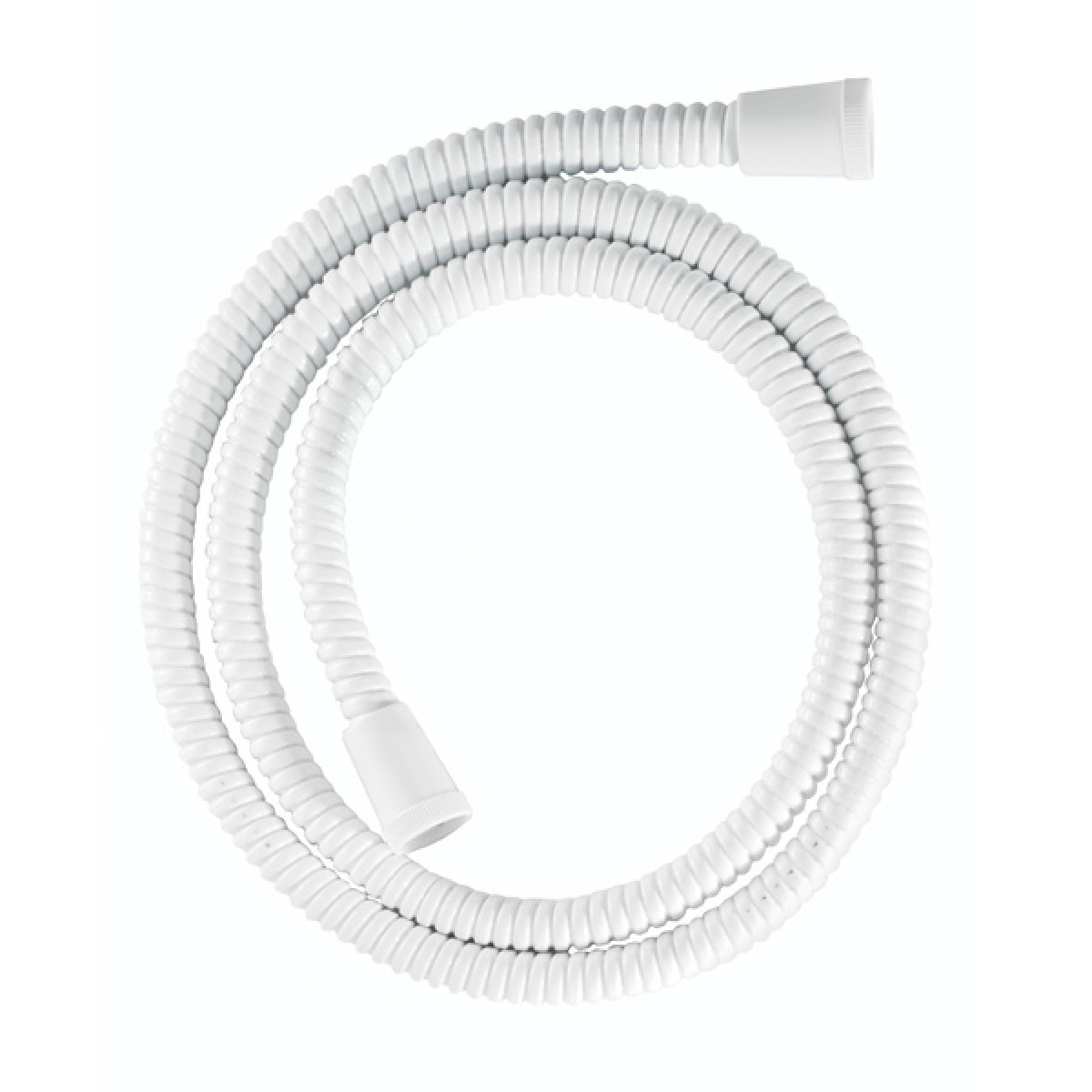 Croydex White PVC Reinforced Shower Hose 1250mm