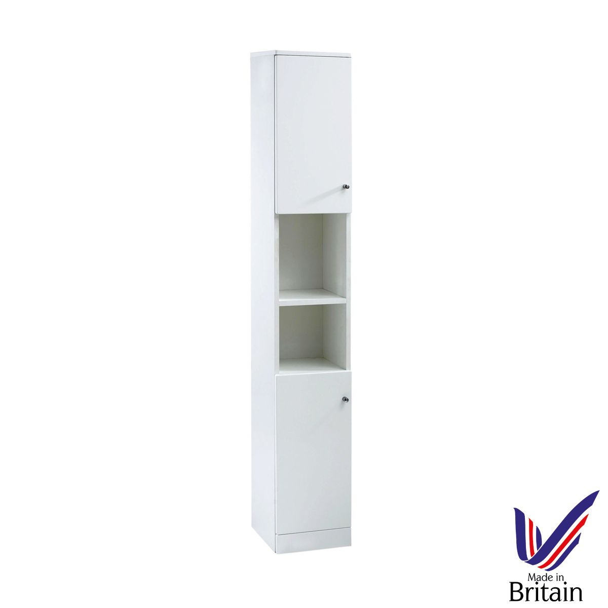 Ikoma White Gloss Tall Unit