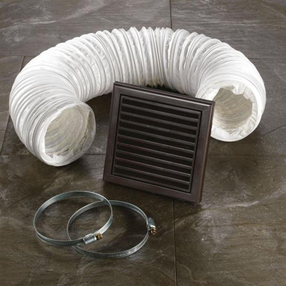 HiB Wetroom Extractor Fan Accessory Kit in Brown