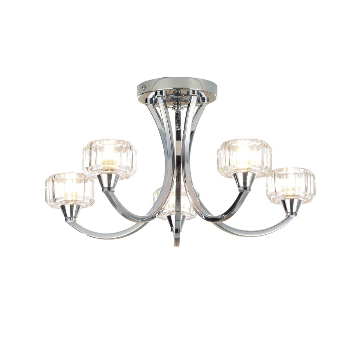 Forum Octans 5 Light Ceiling Lamp