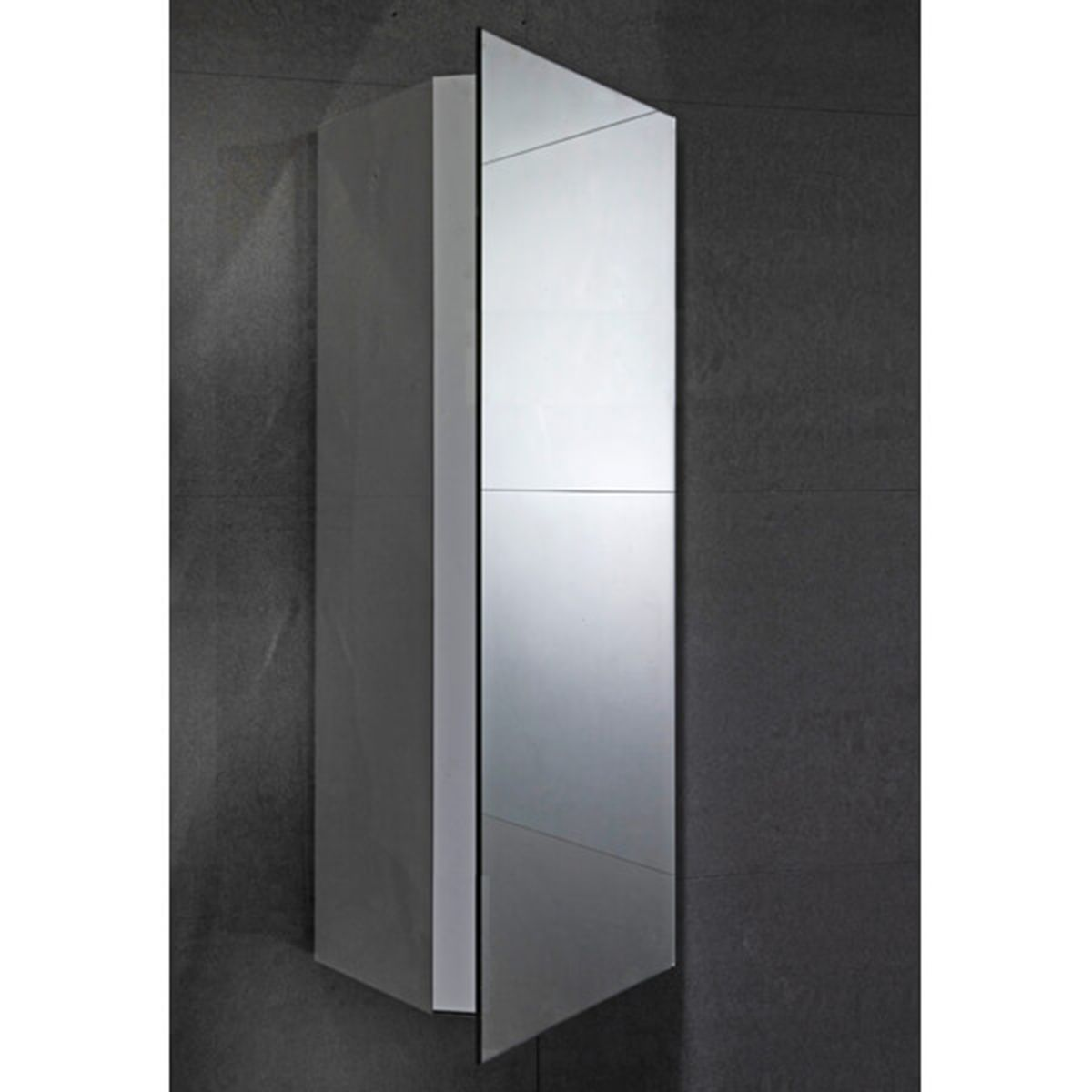 Frontline Alcove Corner Mirrored Bathroom Cabinet
