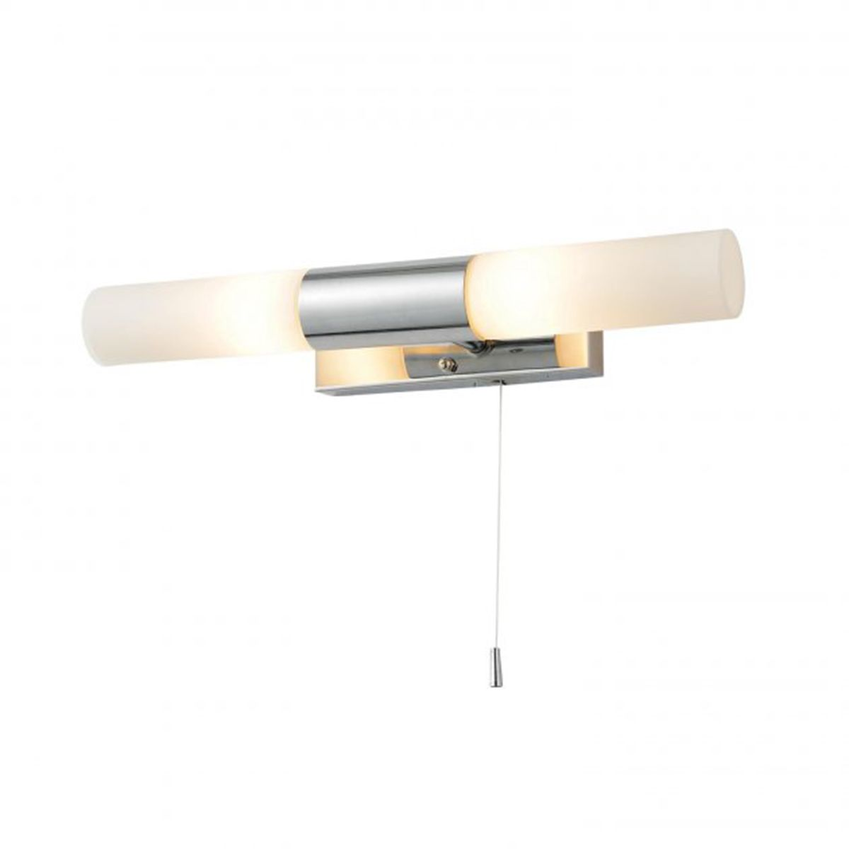 Frontline Chrome Beam Wall Light with Pull Cord 360mm