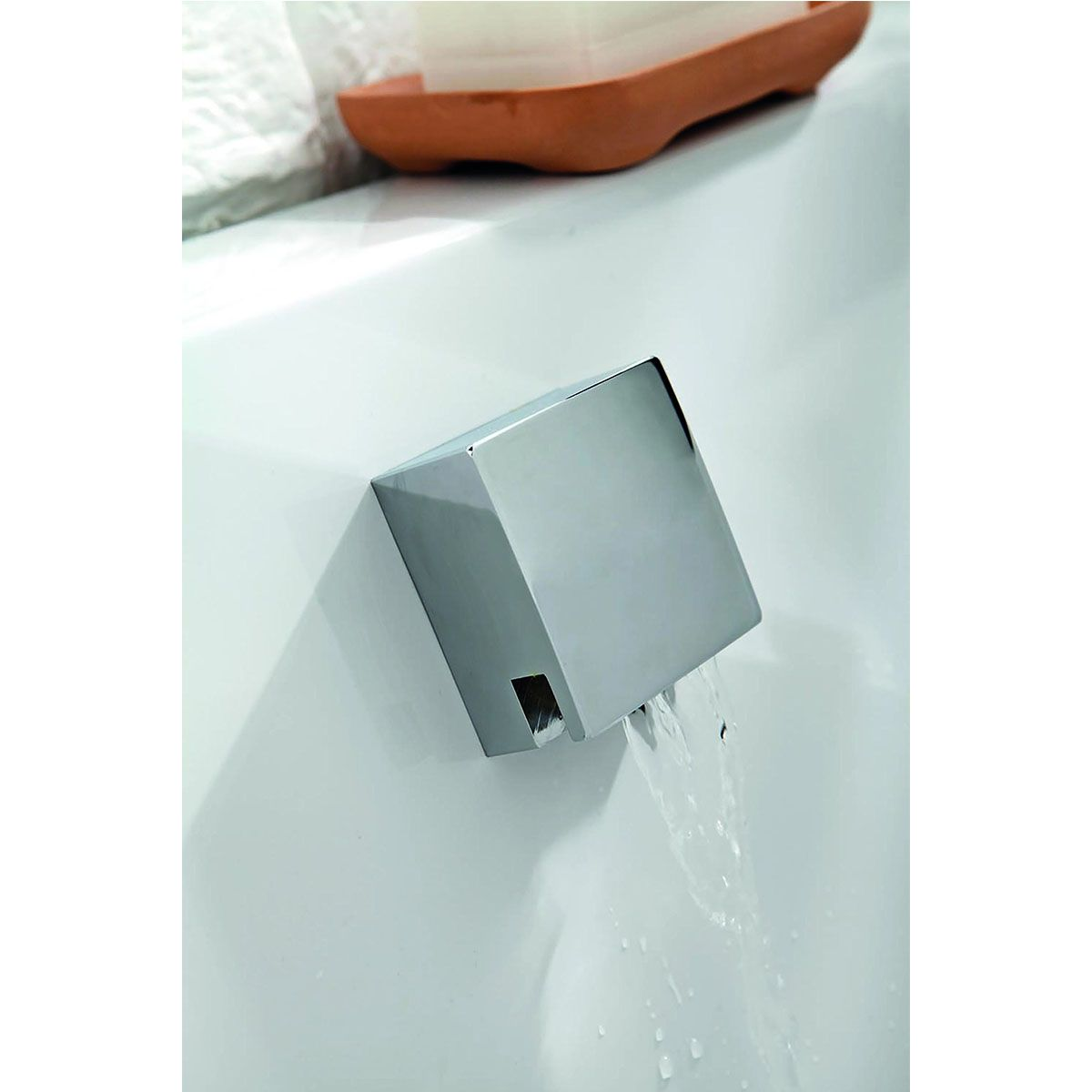 Frontline Chrome Petit Basin Mixer with Sprung Waste
