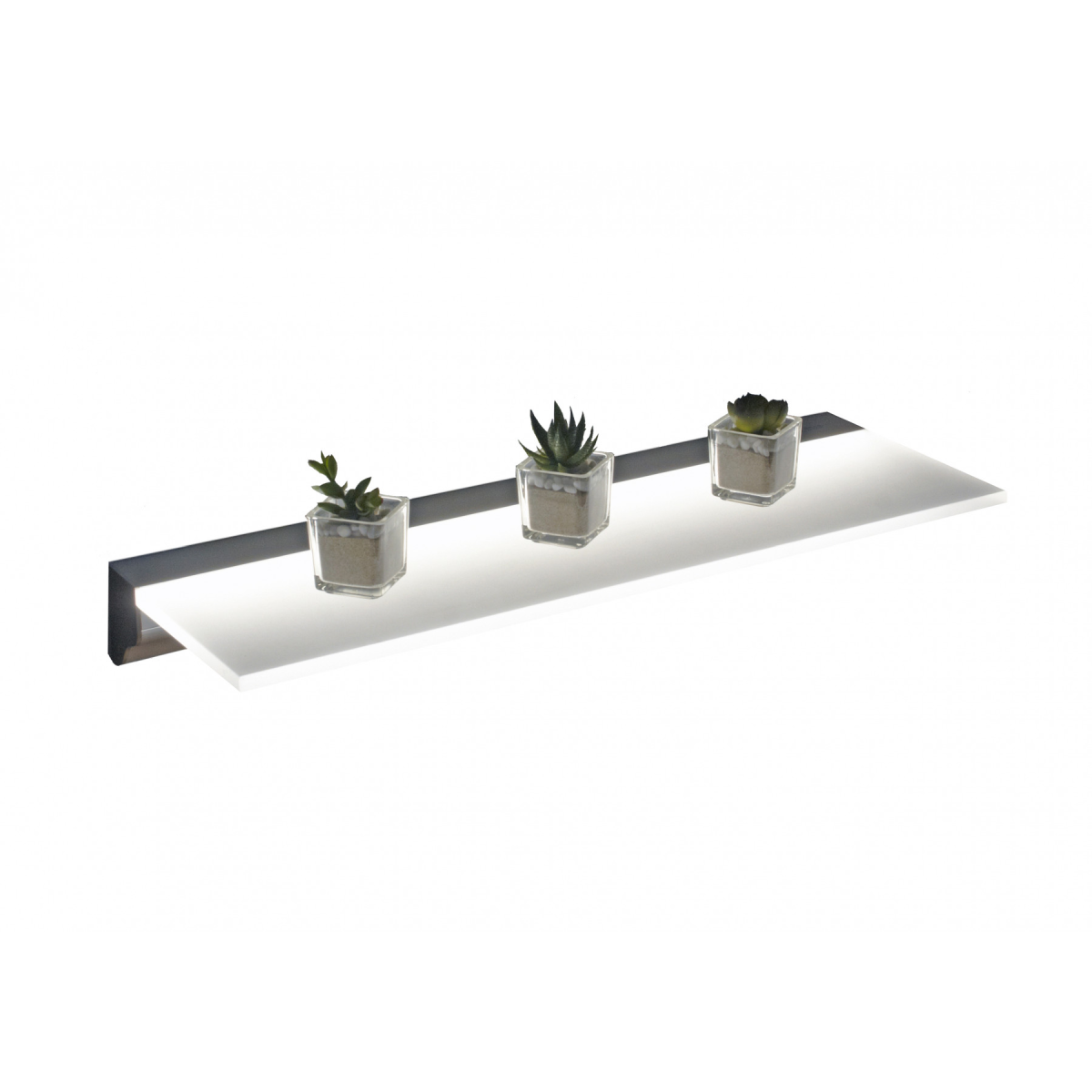 Frontline Illuminated LED Floating Shelf 900mm