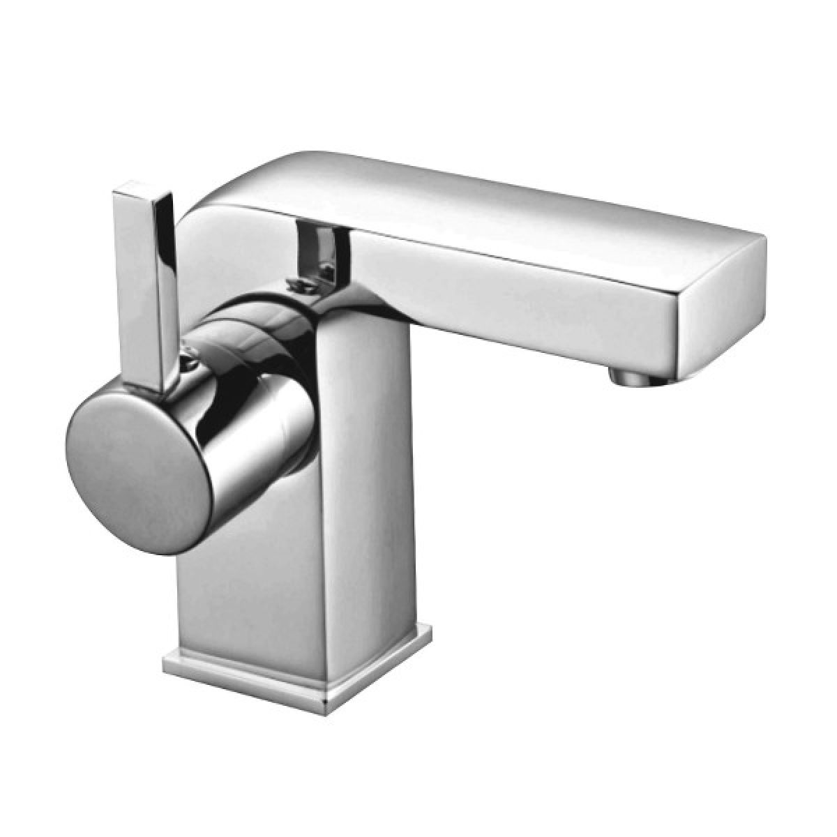 Frontline Pano Mono Basin Mixer Tap with Click Clack Waste
