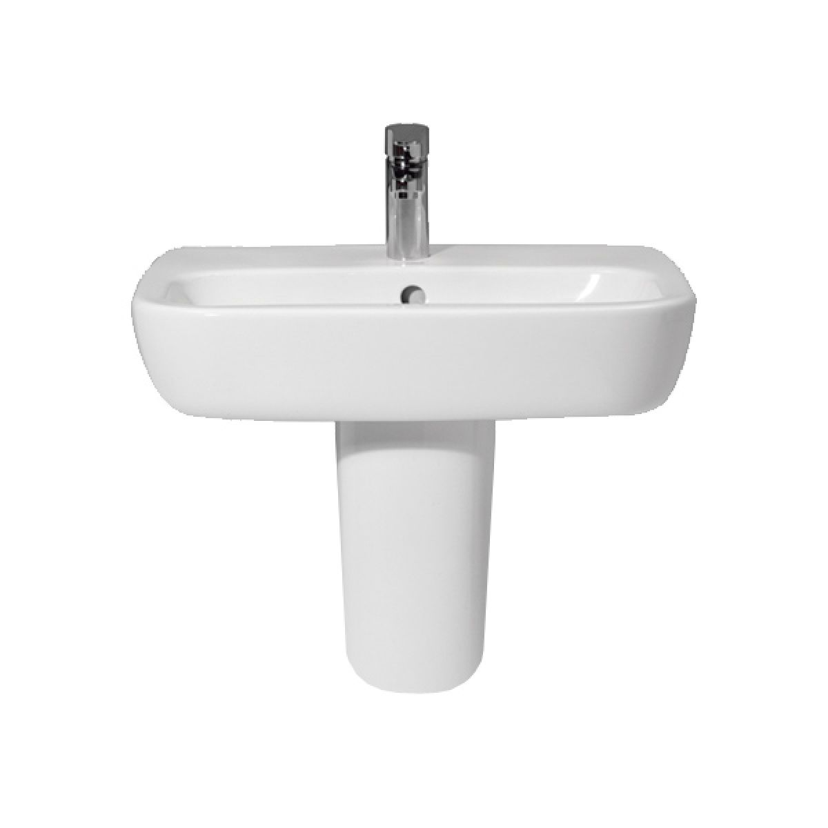 Frontline Petit2/Ballini Basin with Semi Pedestal 550mm