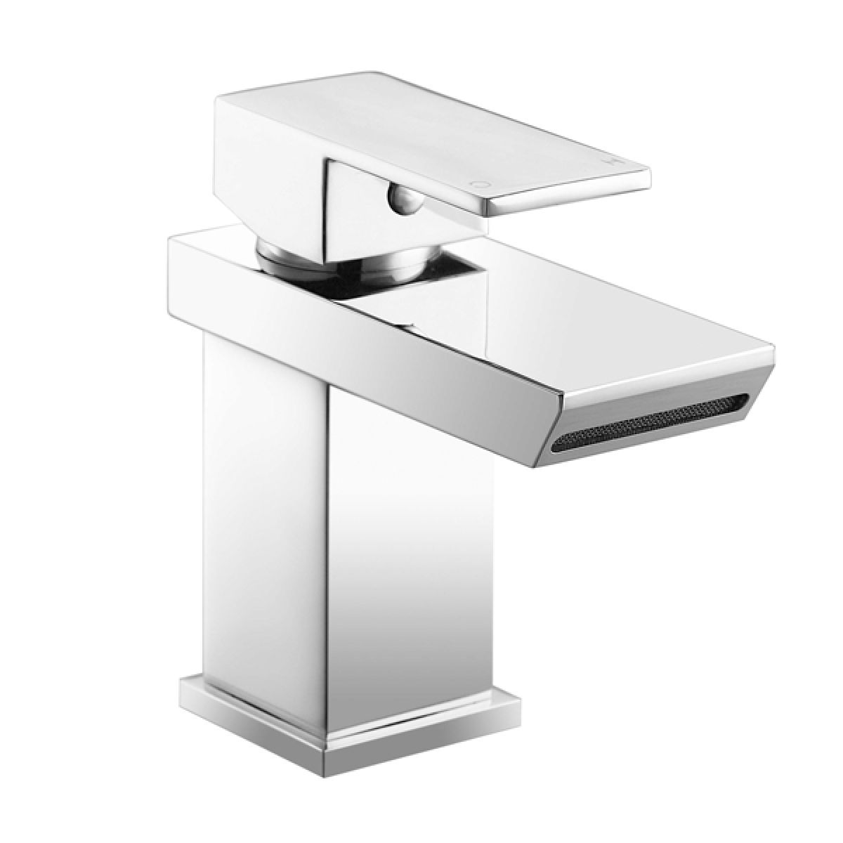 Frontline Sleek Mono Basin Mixer Tap with Click Clack Waste