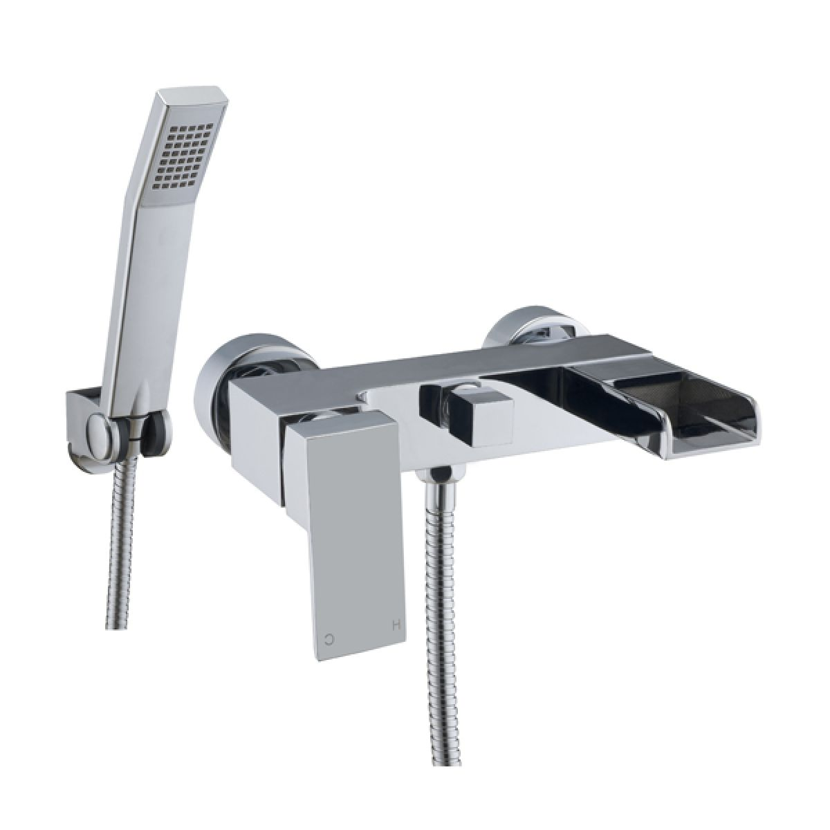 Frontline Stream Wall Mounted Bath Shower Mixer Tap