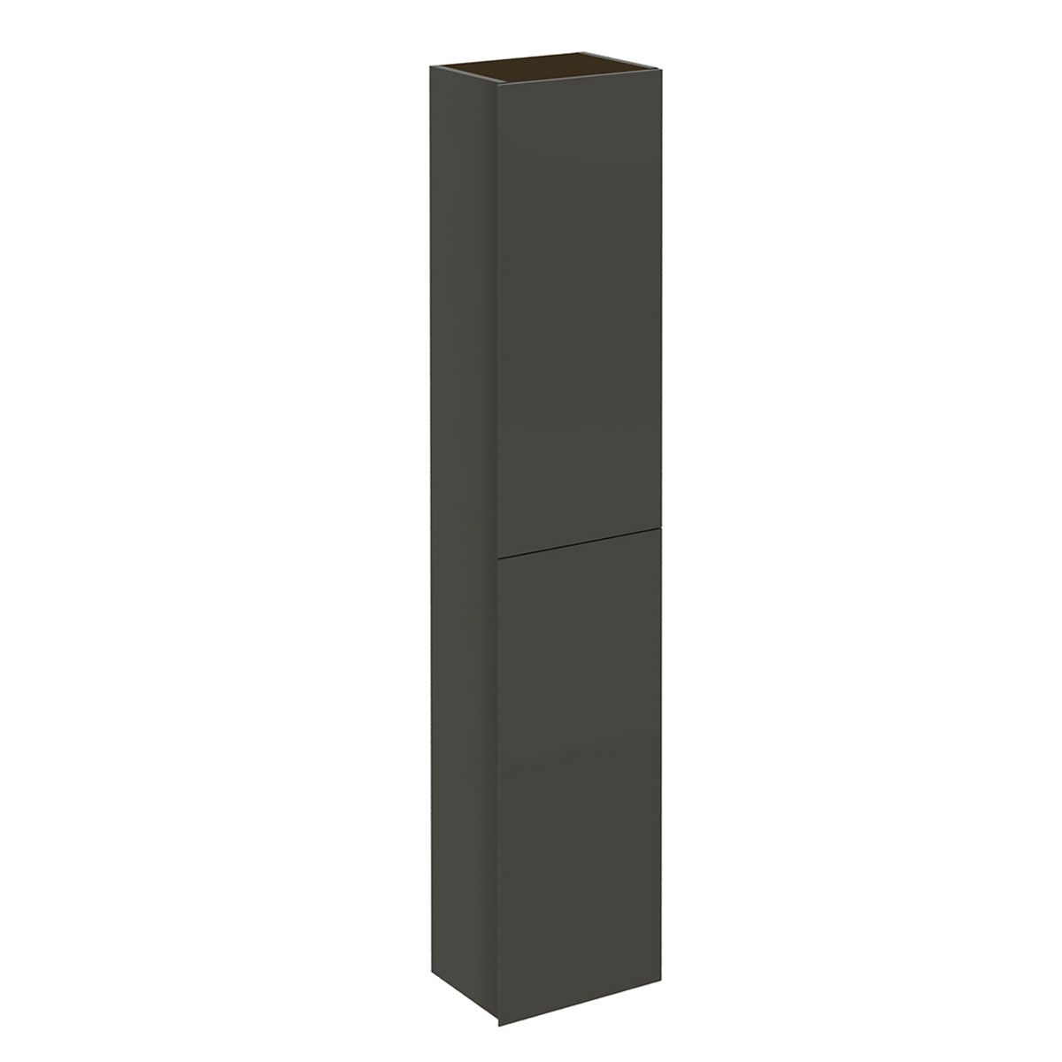 Frontline Valencia Anthracite Wall Mounted Tall Unit