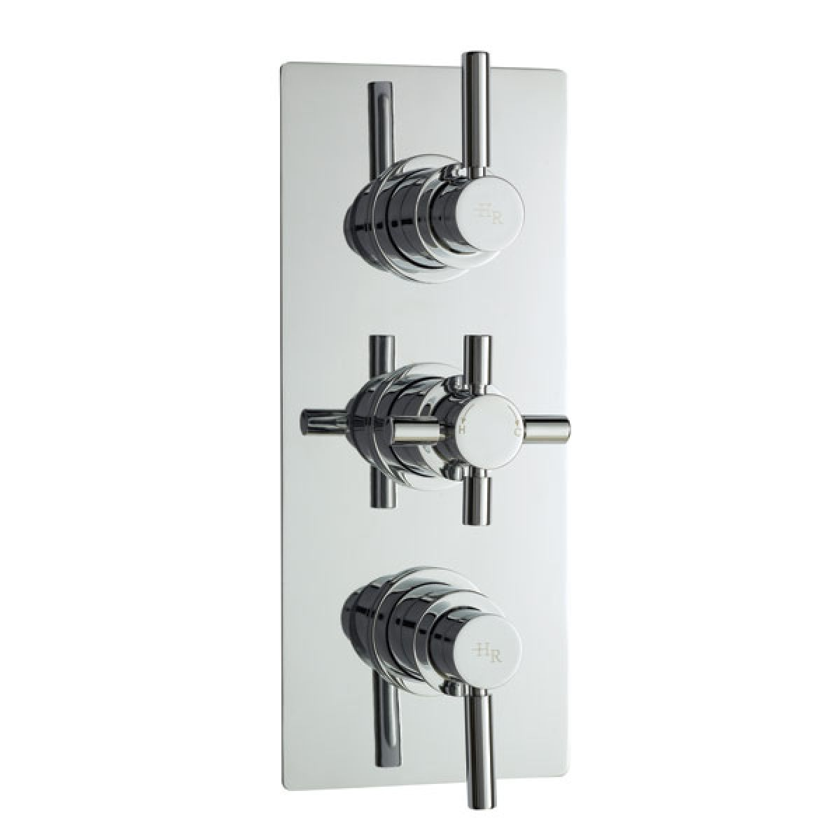 Hudson Reed Pura Plus Triple Concealed Thermostatic Shower Valve with Diverter