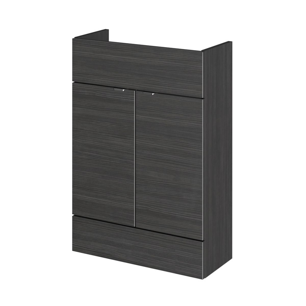 Hudson Reed Fusion Hacienda Black Slimline Storage Furniture Pack 1200mm
