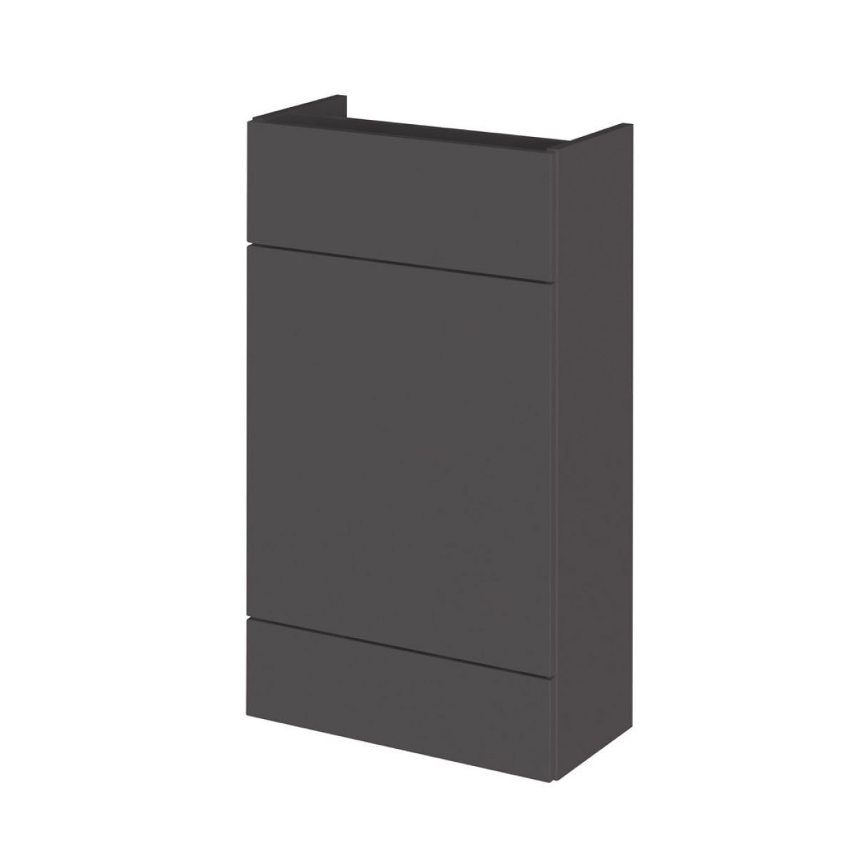 Hudson Reed Fusion Gloss Grey Slimline Combination Furniture Pack 1100mm
