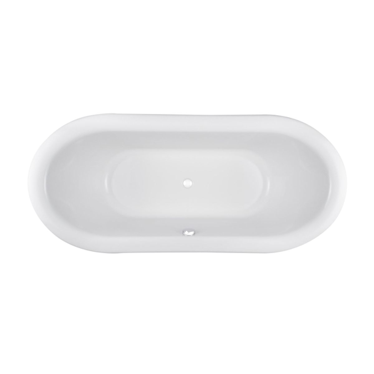 Hudson Reed Alice Round Double Ended Freestanding Bath 1740mm