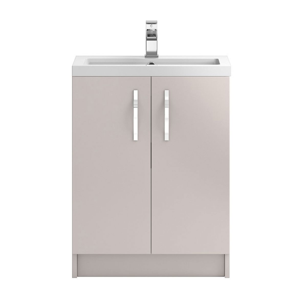 Hudson Reed Apollo Gloss Cashmere Floor Standing Vanity Unit 600mm