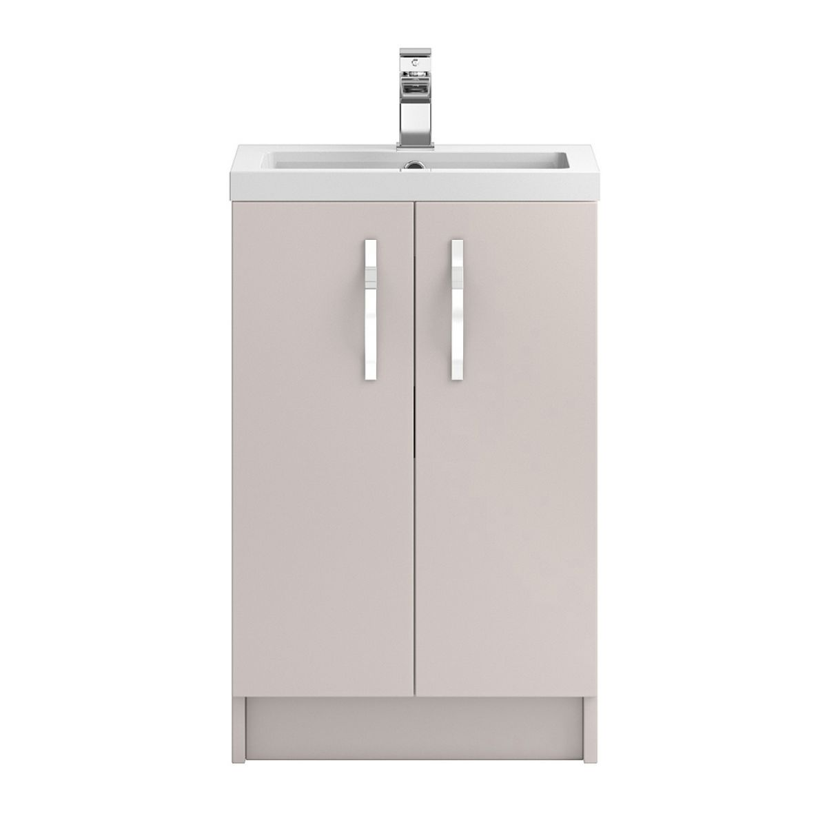 Hudson Reed Apollo Gloss Cashmere Floor Standing Vanity Unit 500mm
