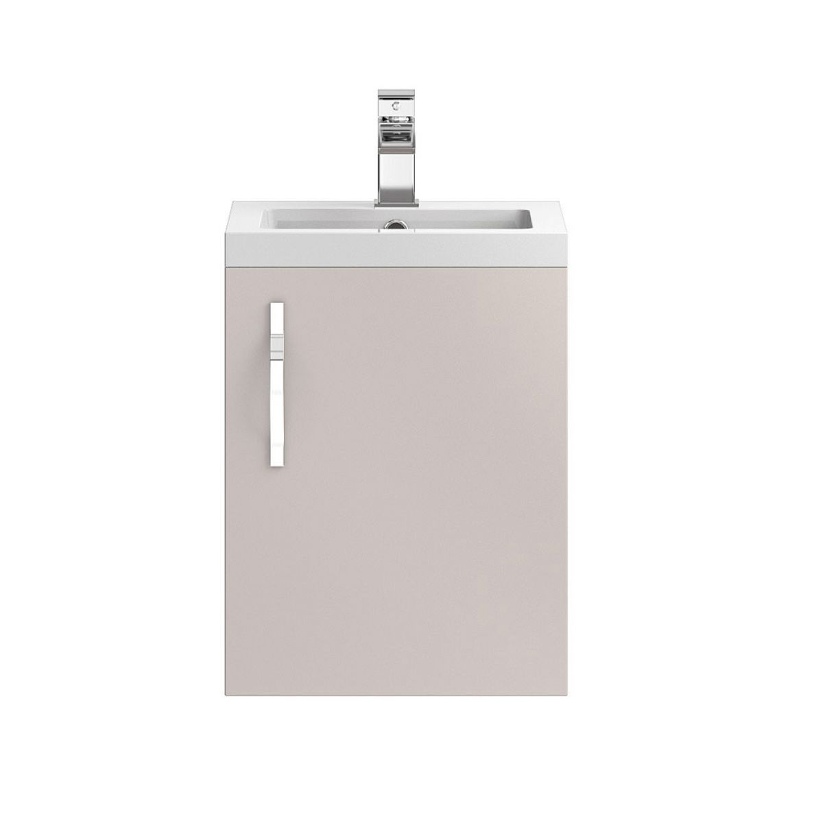 Hudson Reed Apollo Gloss Cashmere Wall Hung Vanity Unit 400mm