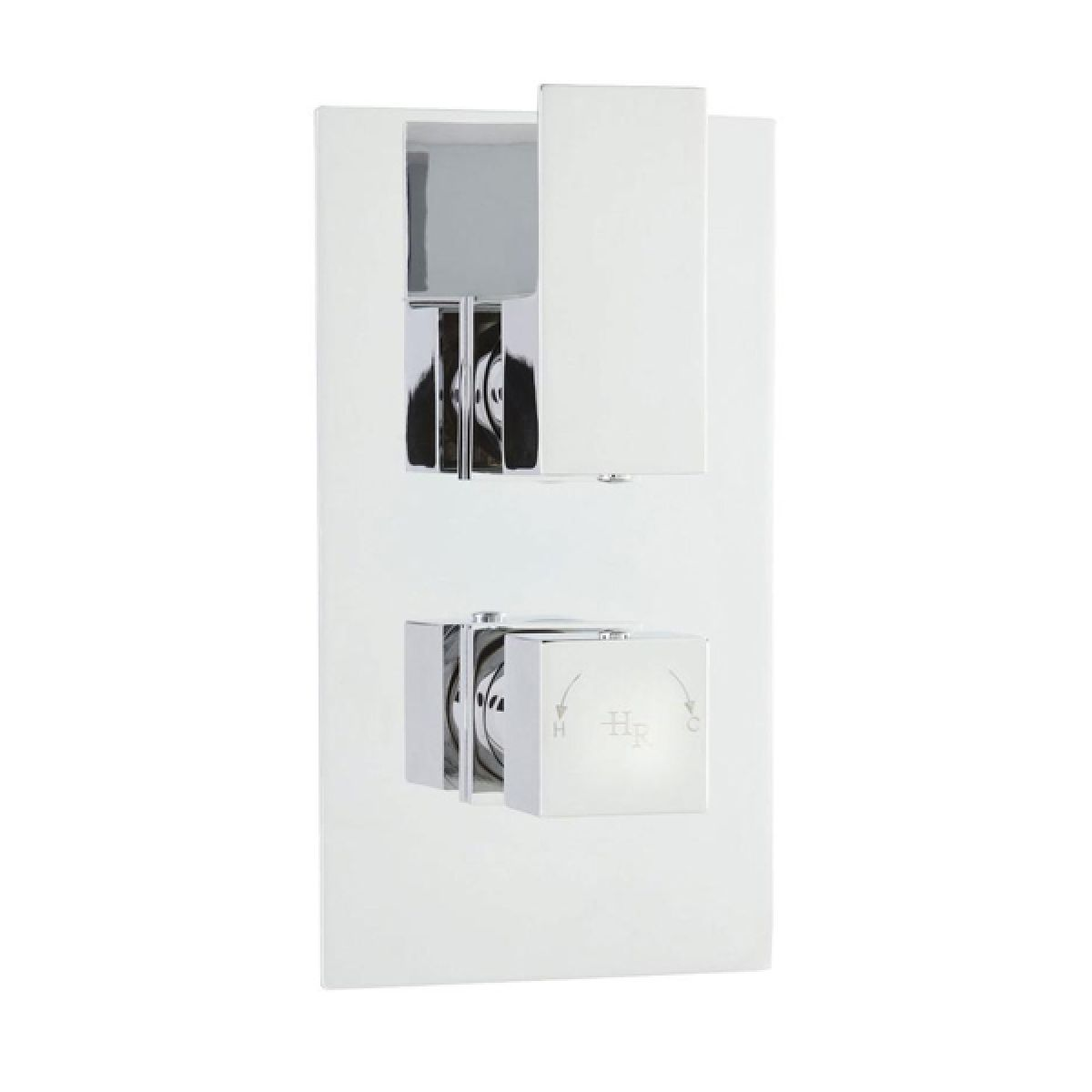 Hudson Reed Art Twin Thermostatic Shower Valve