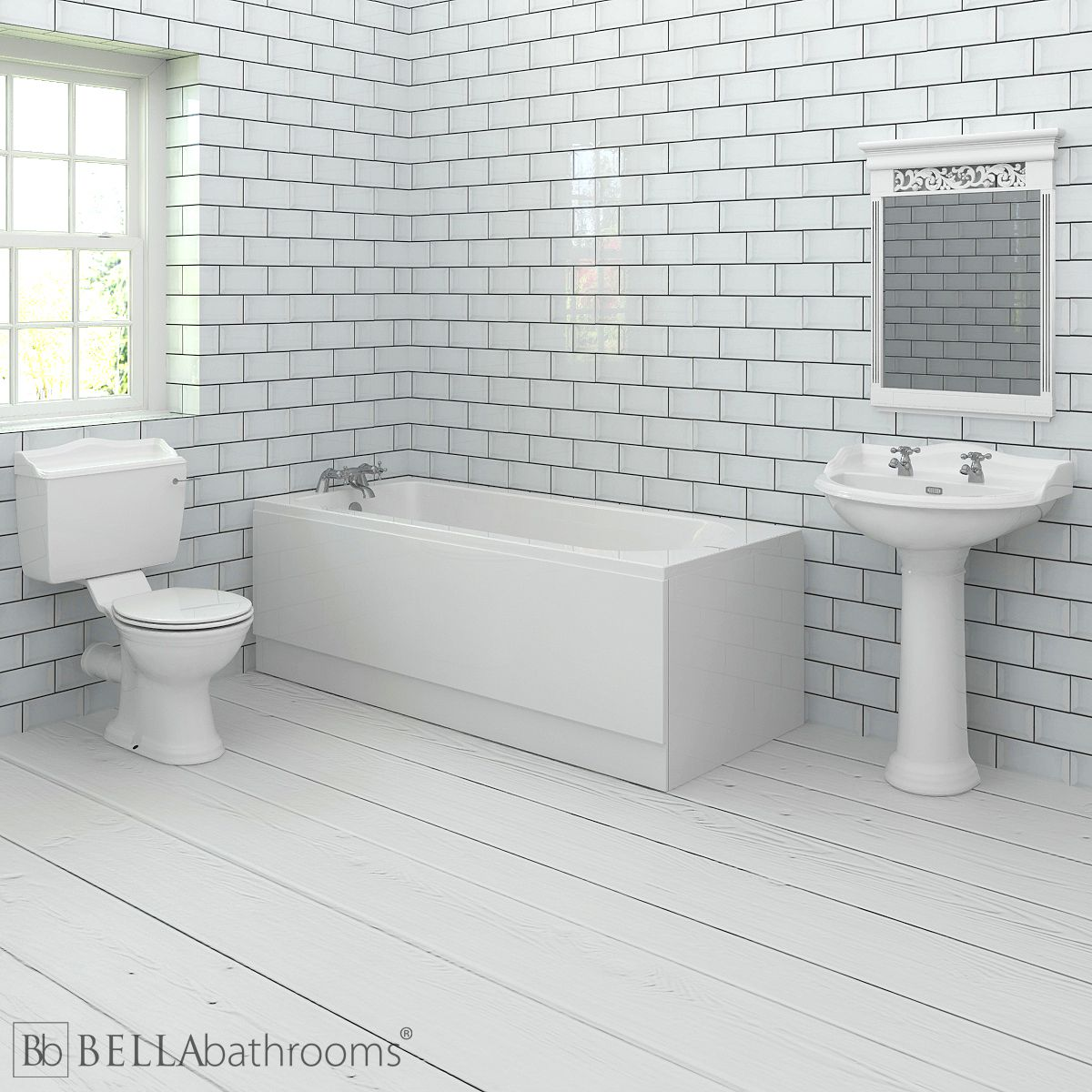 Hudson Reed Chancery Bathroom Suite