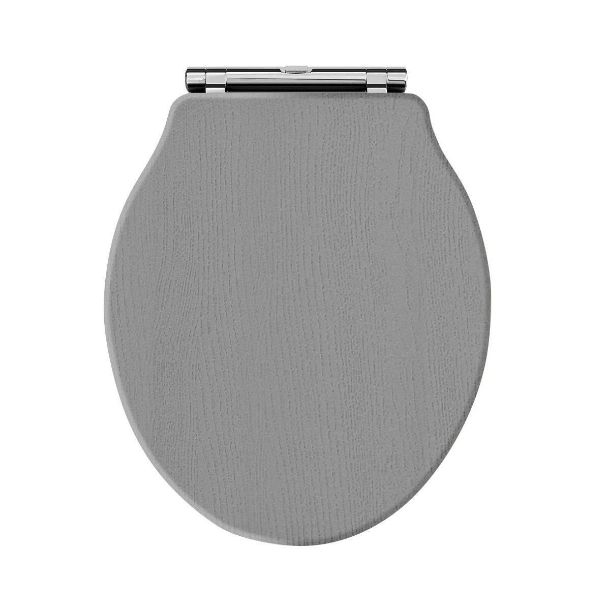 Hudson Reed Chancery Storm Grey Soft Close Toilet Seat