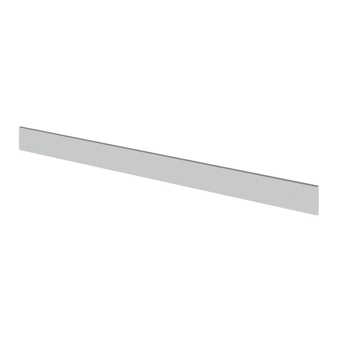 Hudson Reed Fusion Gloss Grey Mist Plinth 1250mm