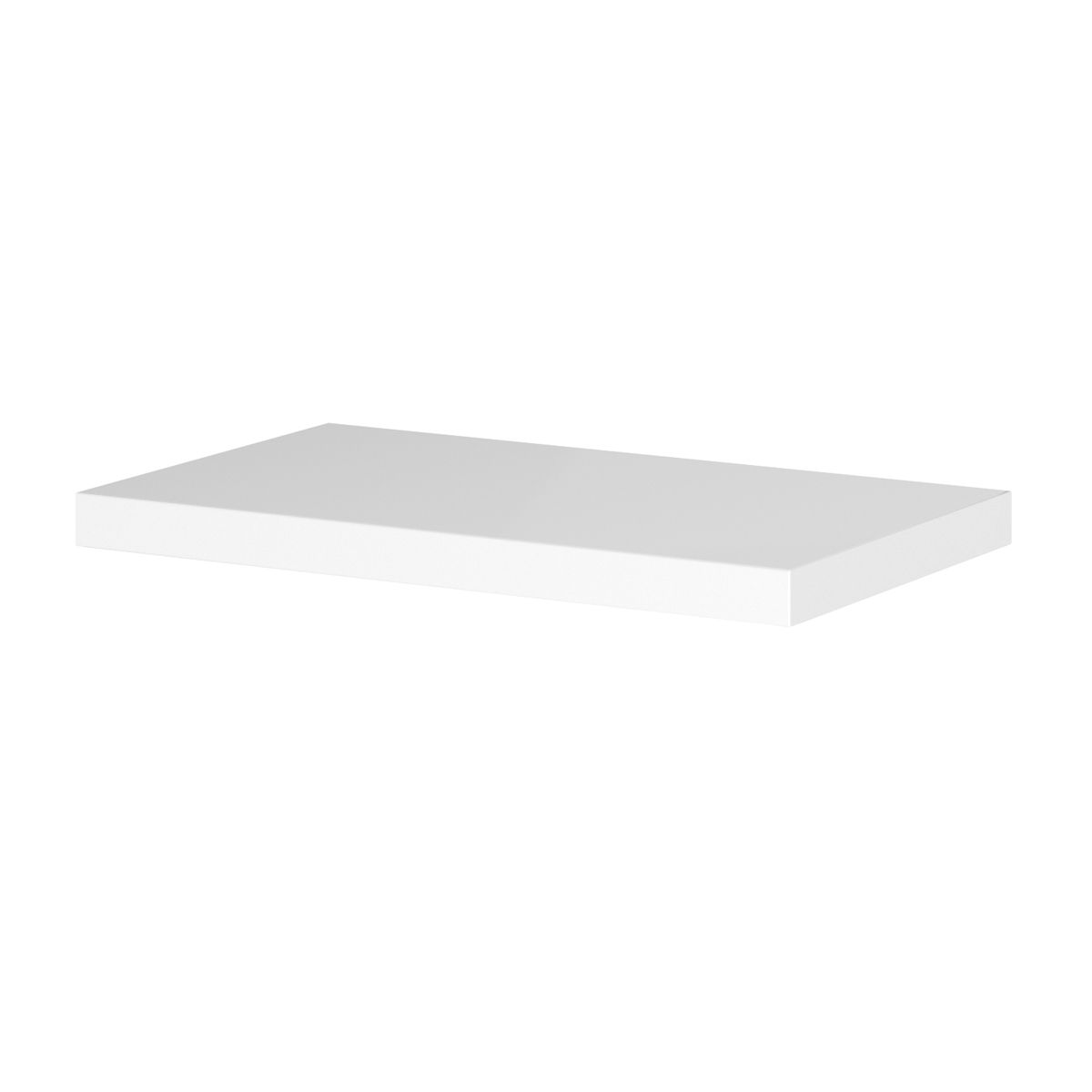 Hudson Reed Fusion Gloss White WC Unit Worktop 600 x 355mm