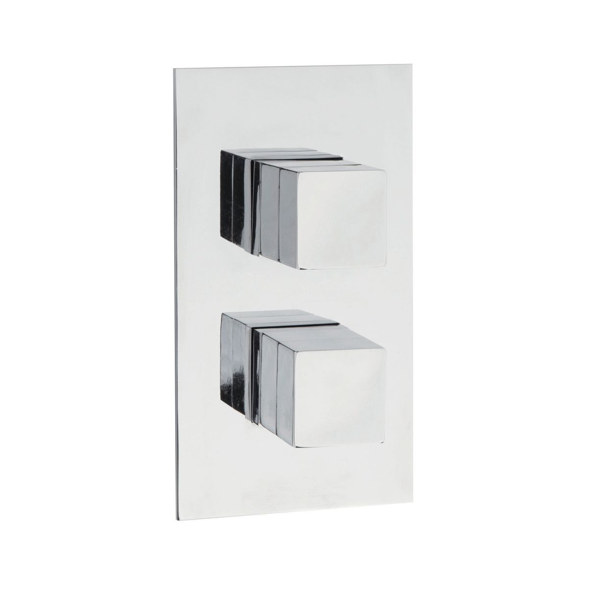Hudson Reed Lennox Twin Concealed Thermostatic Shower Valve