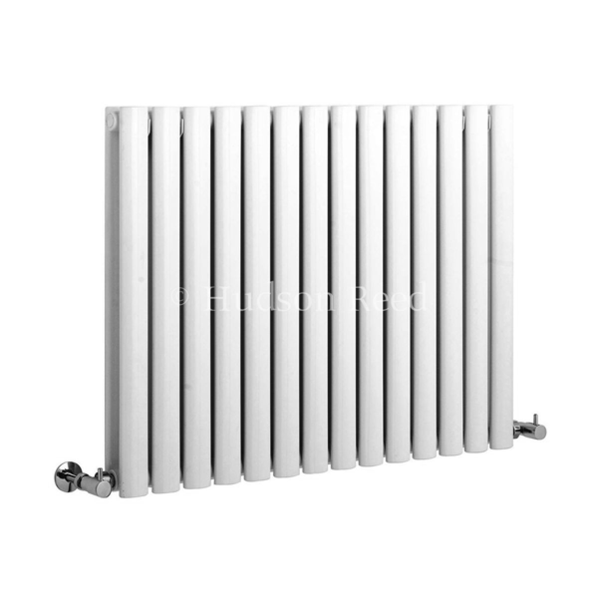 Hudson Reed Revive White Double Panel Designer Radiator 826mm