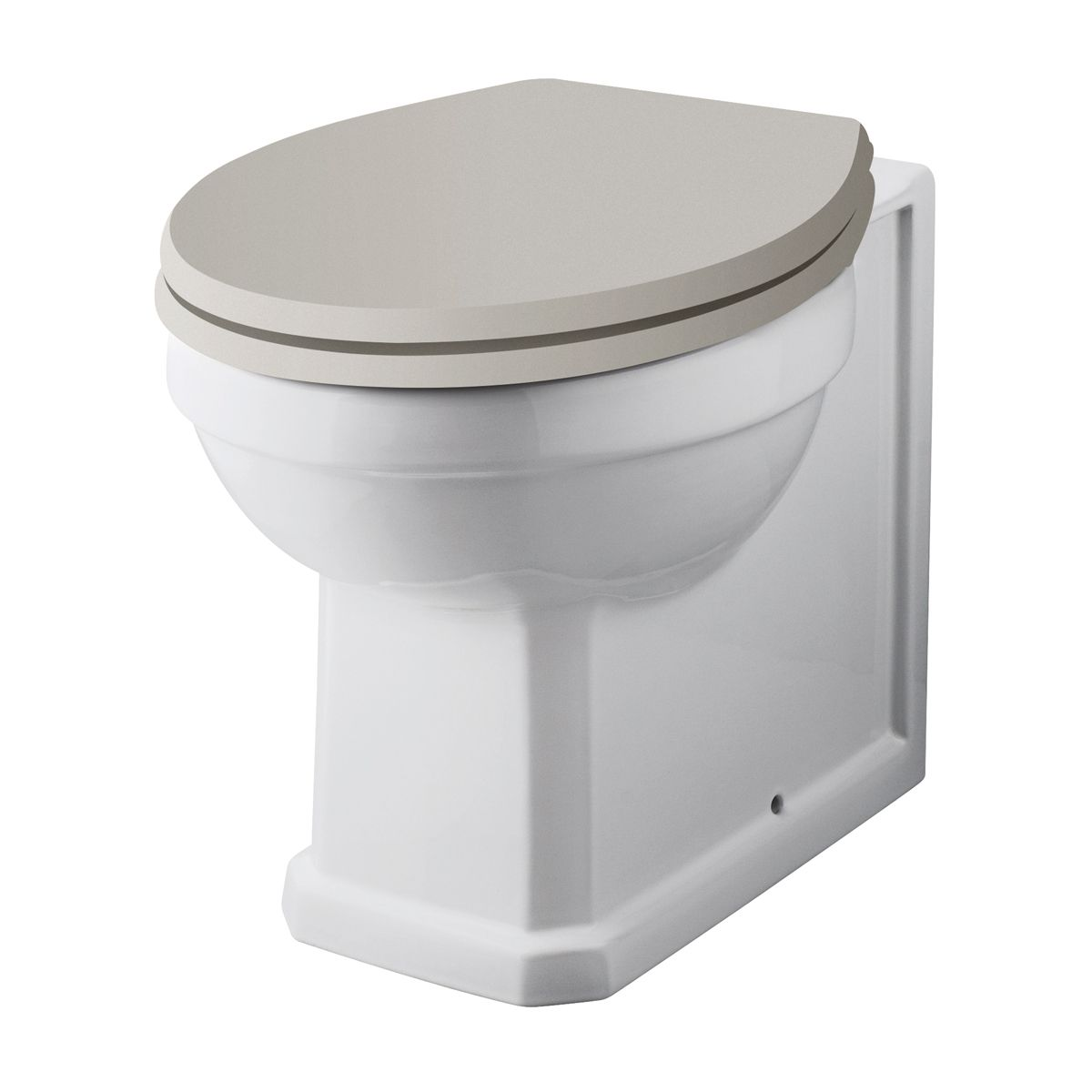 Hudson Reed Richmond Comfort Height Back to Wall Toilet