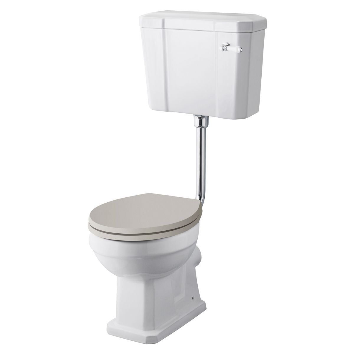 Hudson Reed Richmond Comfort Height Low Level Toilet