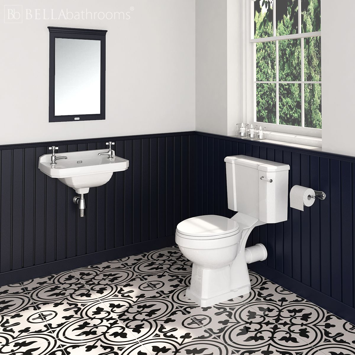 Hudson Reed Richmond Wall Hung Cloakroom Suite