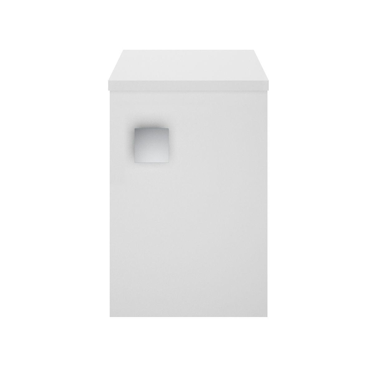 Hudson Reed Sarenna Moon White Wall Mounted Side Cabinet 300mm