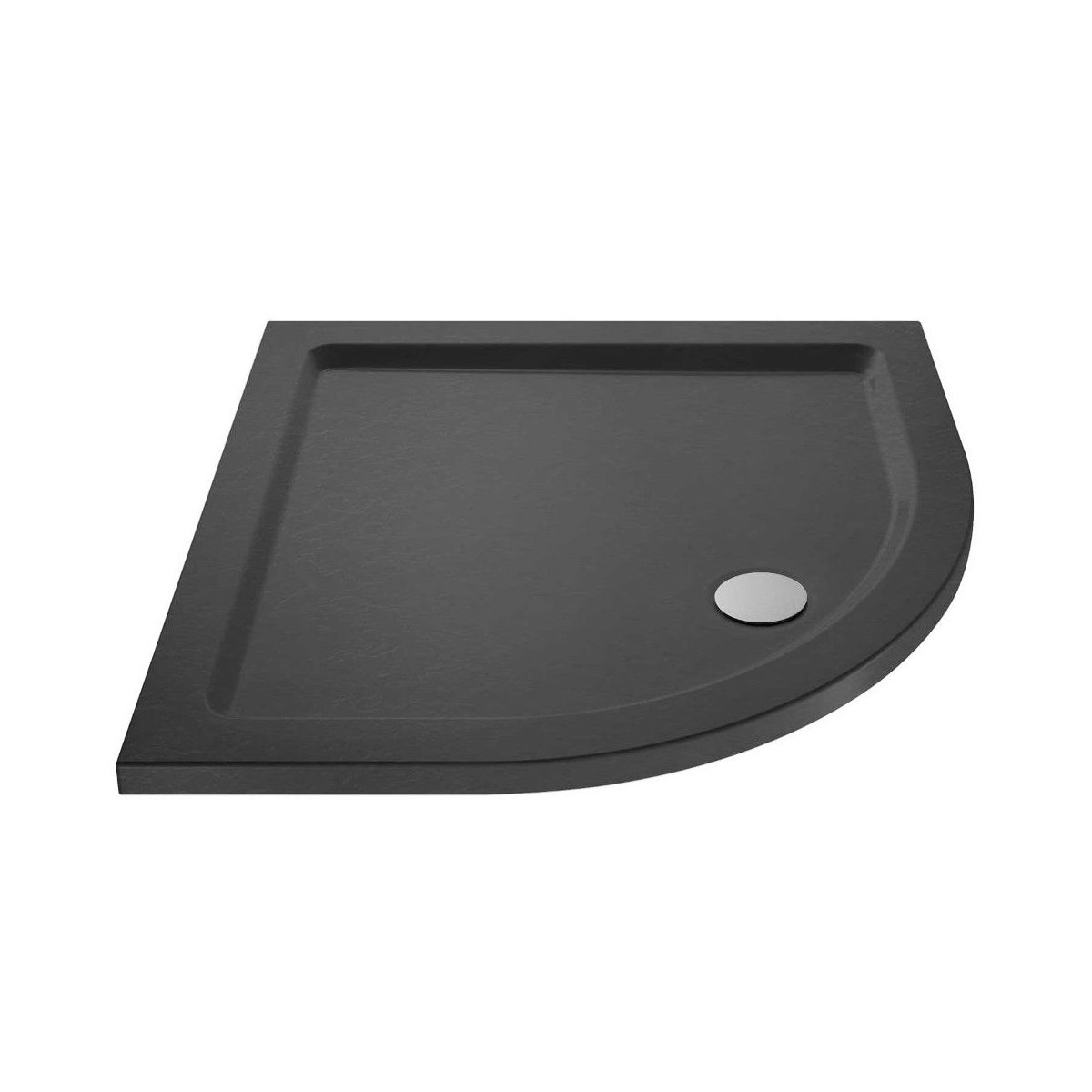 Hudson Reed Slate Grey Quadrant Shower Tray 1000 X 1000