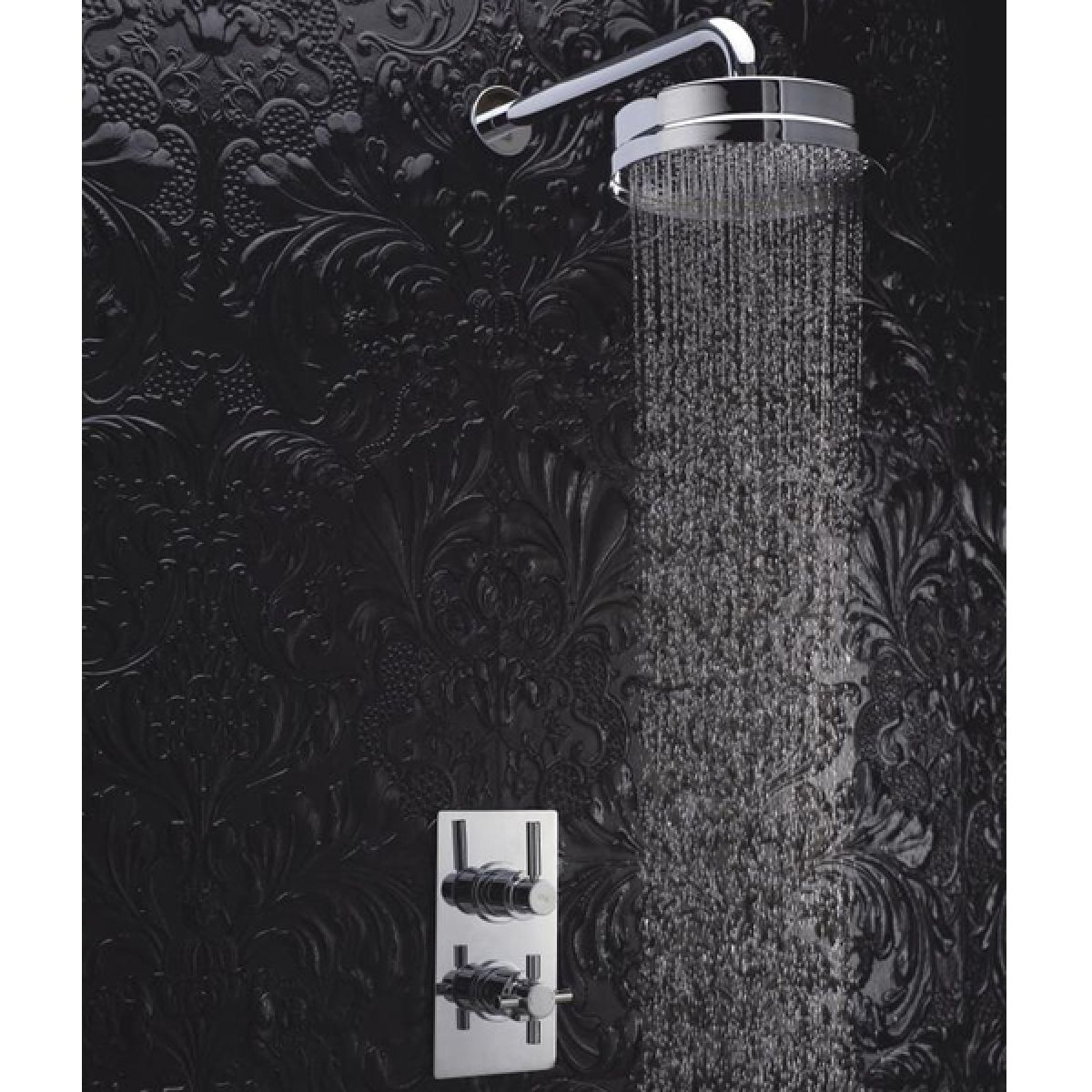 Hudson Reed Tec Pura Thermostatic Shower with Fixed Shower Head