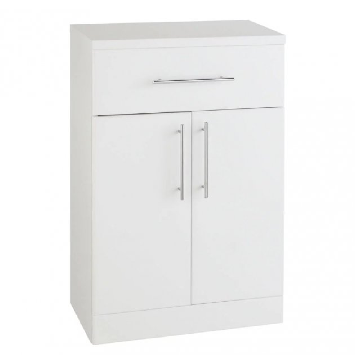 Kartell Encore White Door and Drawer Unit 500mm x 330mm Deep