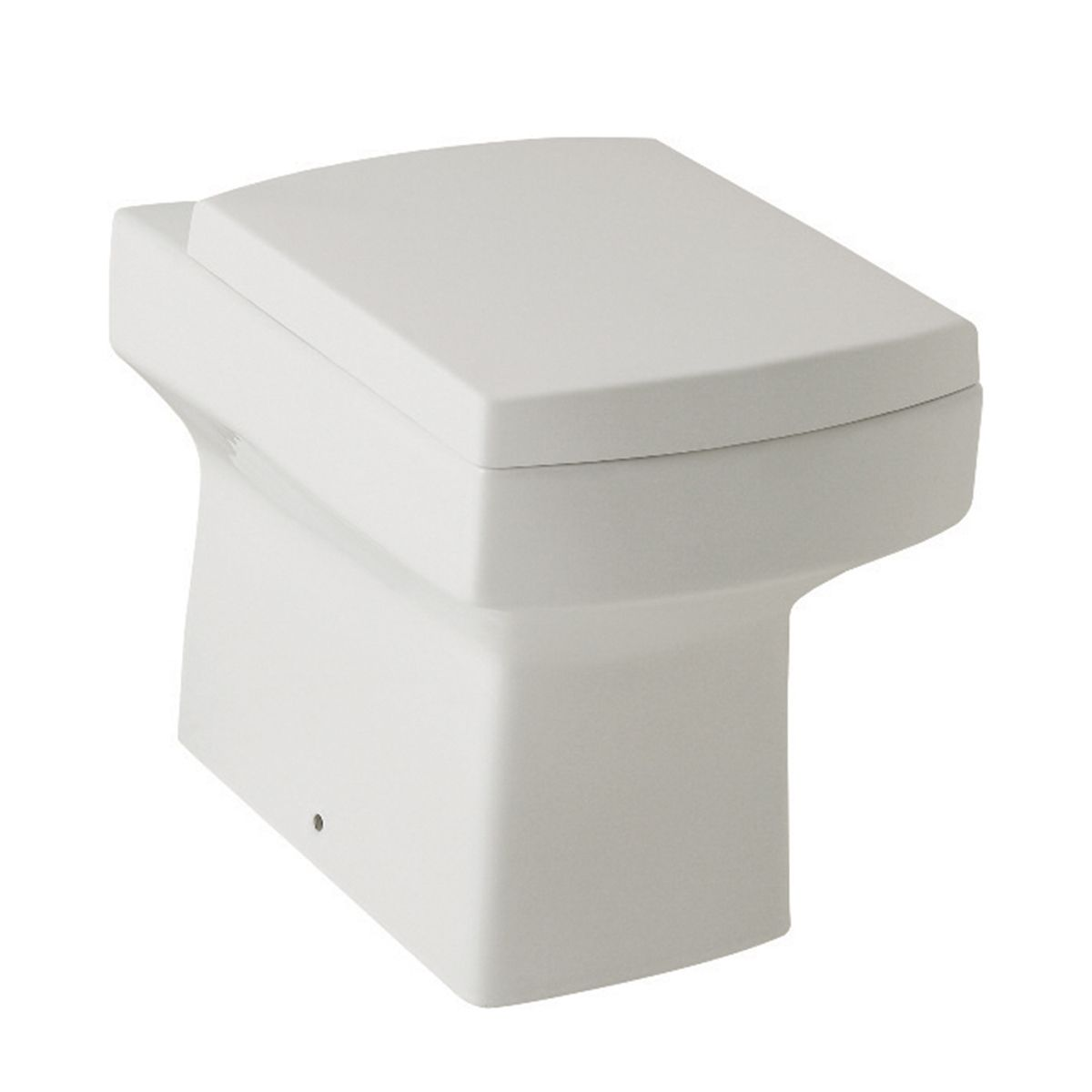 Kartell K-VIT Embrace Back to Wall Toilet with Soft Close Seat