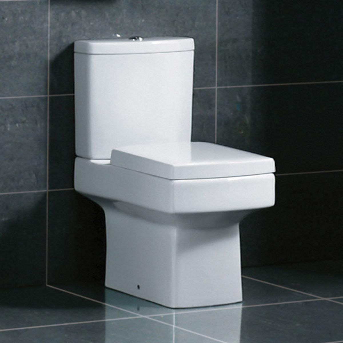 Kartell K-VIT Embrace Close Coupled Toilet with Soft Close Seat 1
