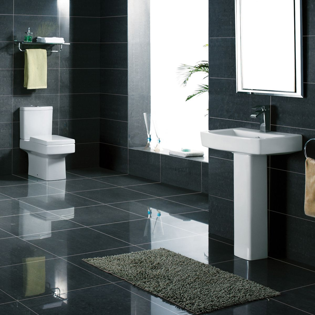 Kartell K-VIT Embrace Close Coupled Toilet with Soft Close Seat 3