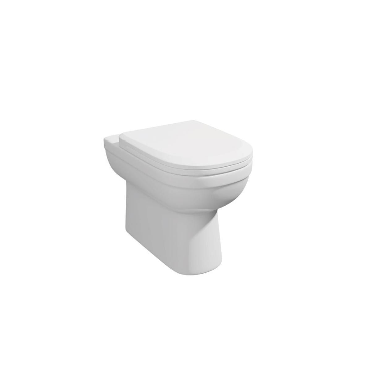 Kartell K-VIT Lifestyle Back To Wall Toilet with Soft Close Seat