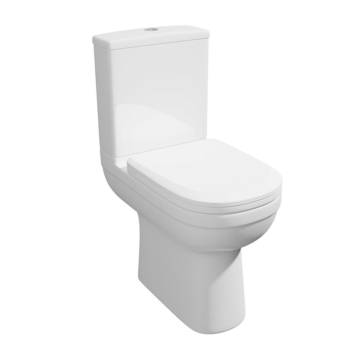 Kartell K-VIT Lifestyle Comfort Height Toilet with Soft Close Seat