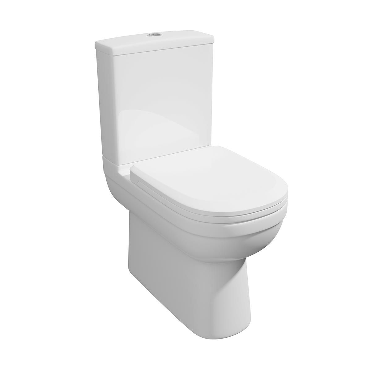 Kartell K-VIT Lifestyle Fully Back To Wall Toilet with Soft Close Seat