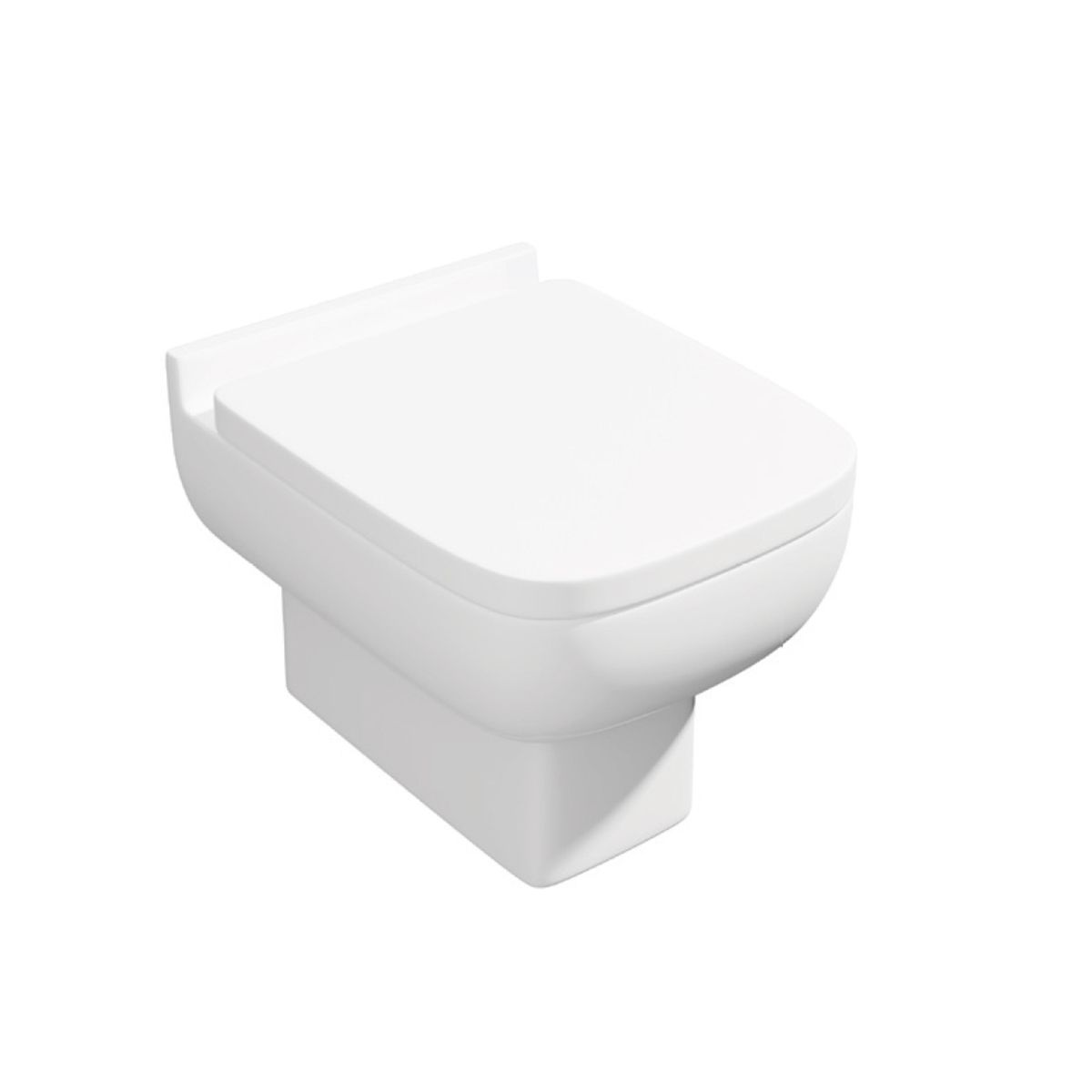 Kartell K-VIT Options 600 Back to Wall Toilet with Soft Close Seat