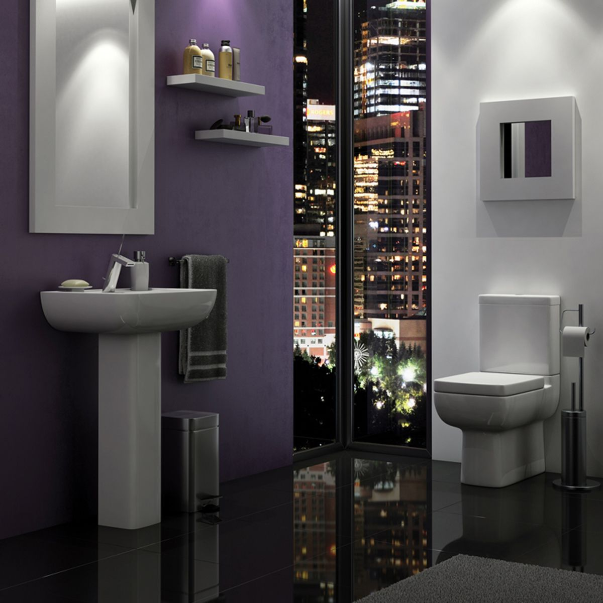 Kartell K-VIT Options 600 Comfort Height Toilet with Soft Close Seat  2