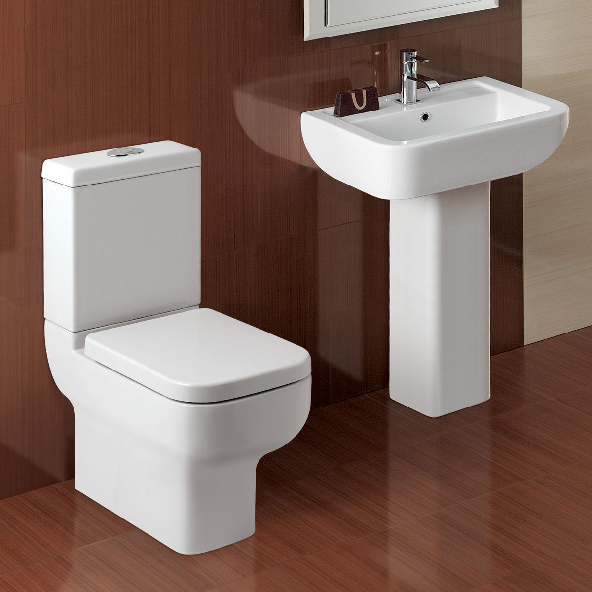 Kartell K-VIT Options 600 Comfort Height Toilet with Soft Close Seat 3