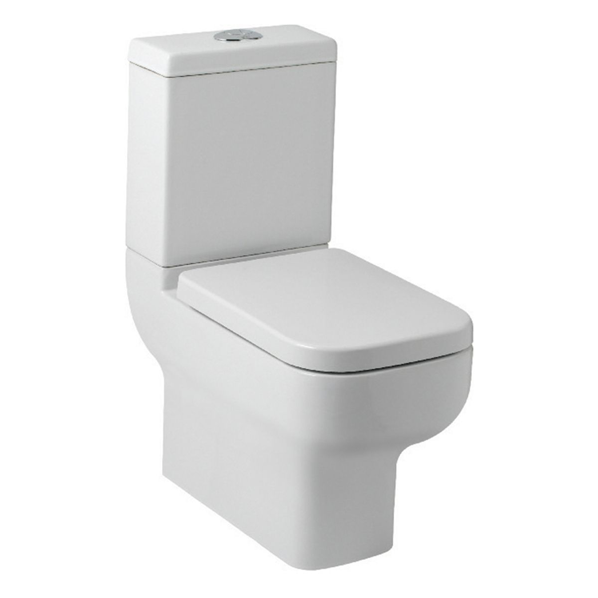 Kartell K-VIT Options 600 Comfort Height Toilet with Soft Close Seat
