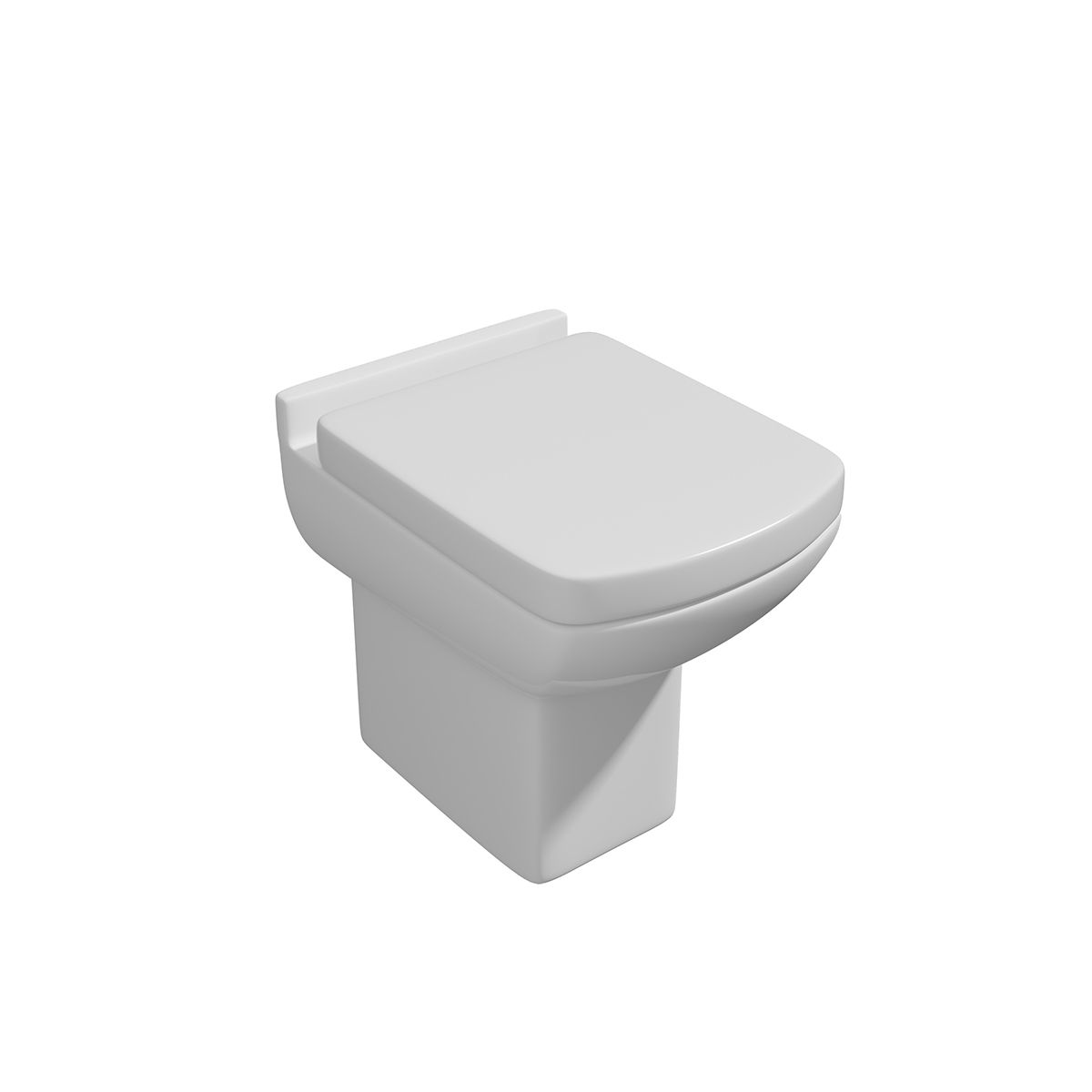 Kartell K-VIT Pure Back to Wall Toilet with Soft Close Seat