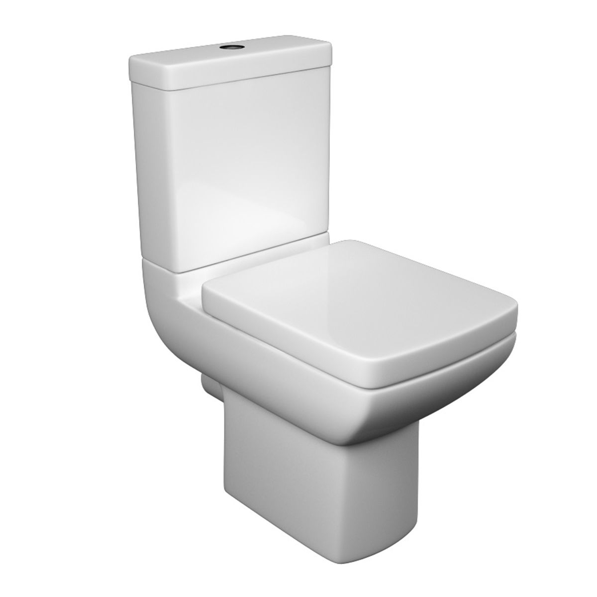 Kartell K-VIT Pure Close Coupled Toilet with Soft Close Seat