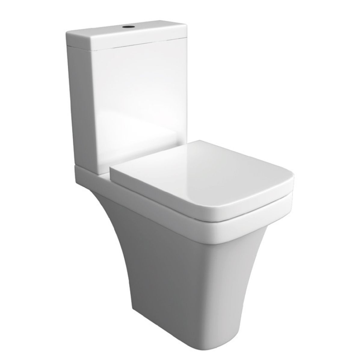 Kartell K-VIT Sicily Comfort Height Toilet with Close Supreme Seat and Cover