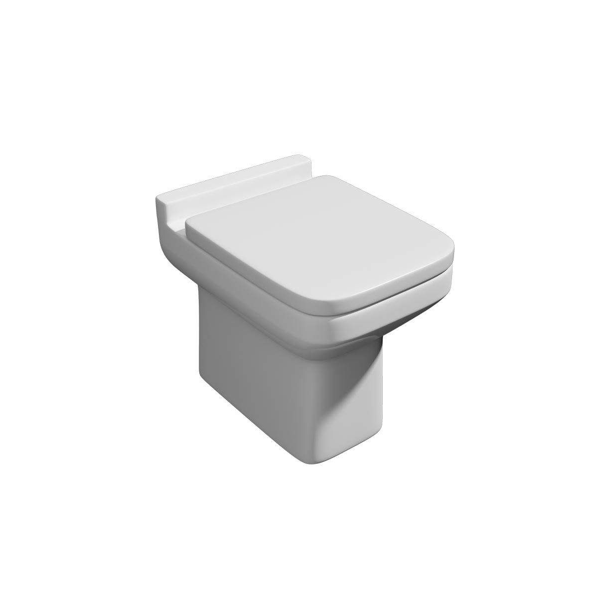 Kartell K-VIT Trim Back To Wall Toilet with Soft Close Seat